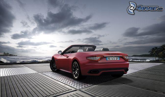 Maserati GranCabrio, descapotable