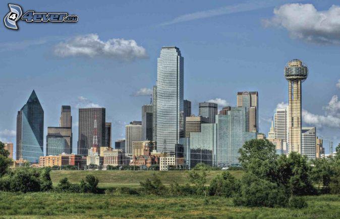 Dallas, rascacielos