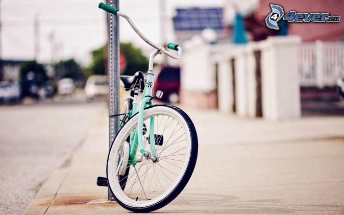 bicicleta, calle