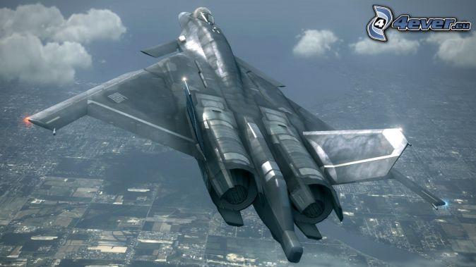 Ace Combat 6, avion de caza