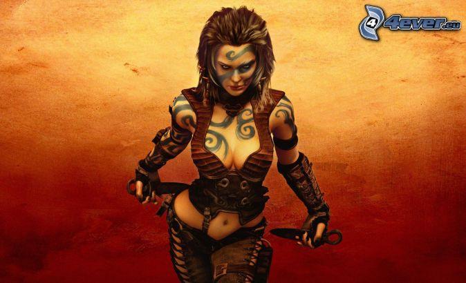 Age of Conan, mujer fantástica