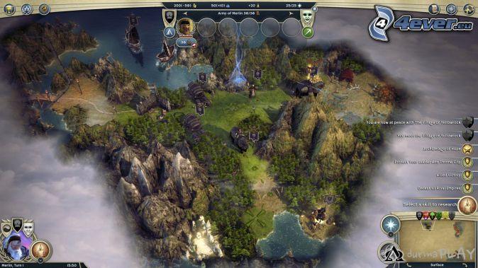 Age of Wonders, montaña rocosa