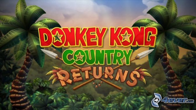 Donkey Kong Country Returns, palmera