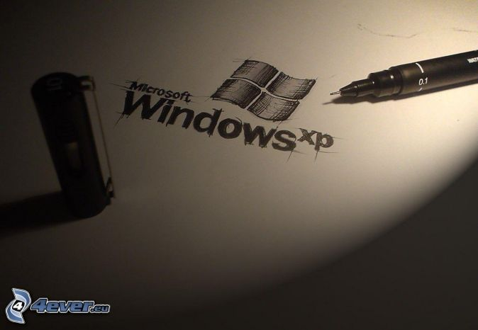 Windows XP, pluma