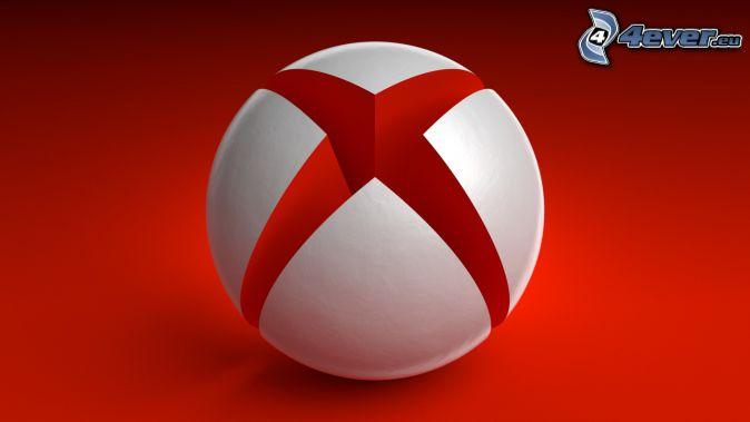 Xbox, fondo rojo
