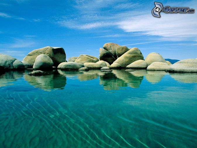El mar azul.....la mar...sus olas Rocas-en-el-mar,-el-mar-azul,-cielo-148634