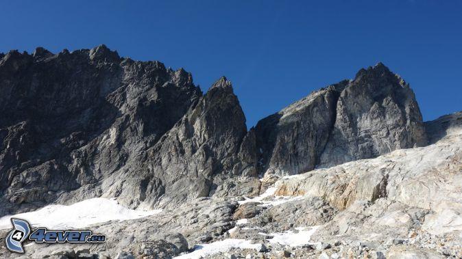 Mount Wilber, montaña rocosa
