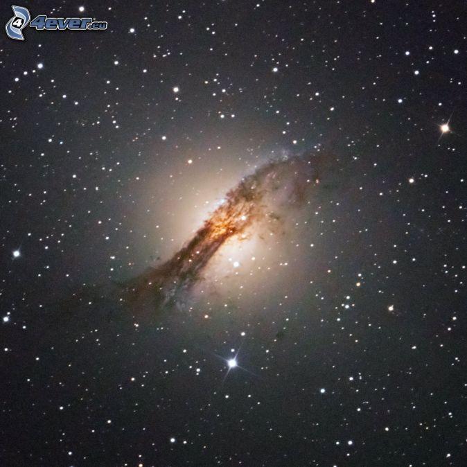 NGC 5128, galaxia, estrellas