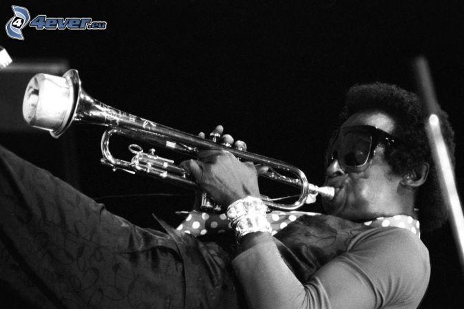 Miles Davis, Foto en blanco y negro