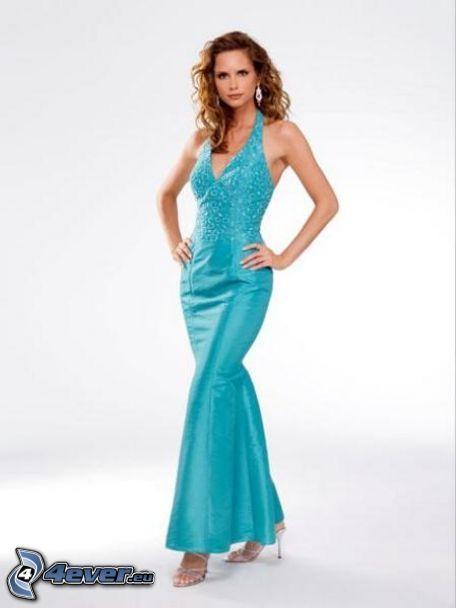 Vestidos De Baño Sol Blanco:modelo , vestido azul