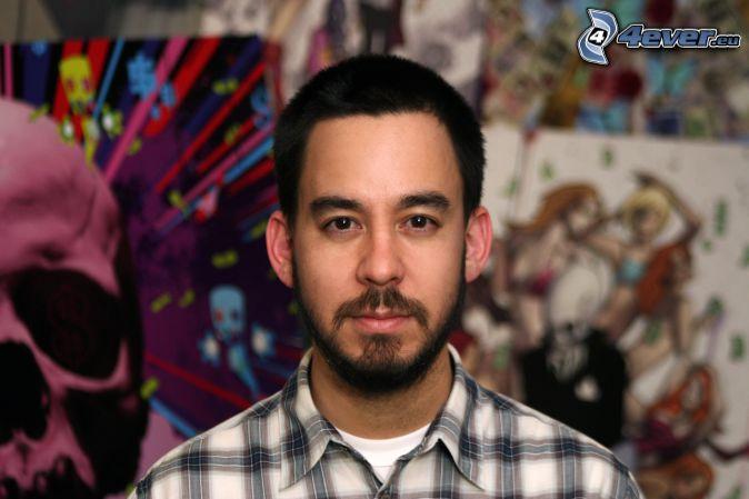 Mike Shinoda, cráneo