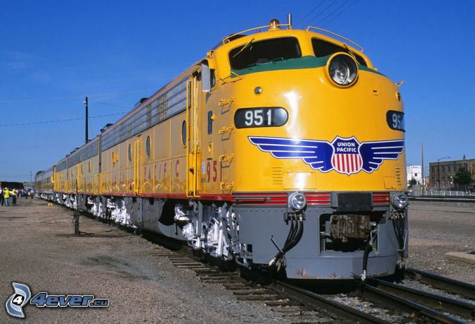 locomotora, Union Pacific