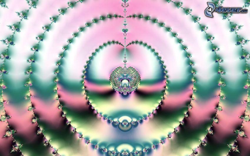 abstracto, círculos