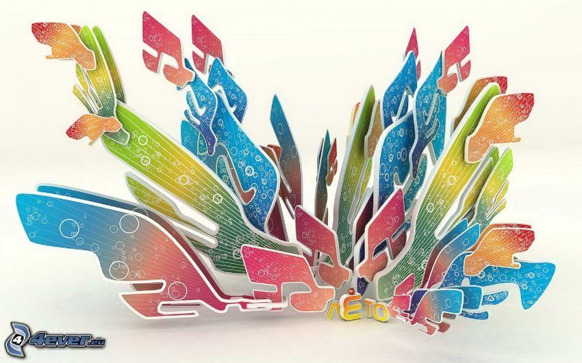 abstracto, colores