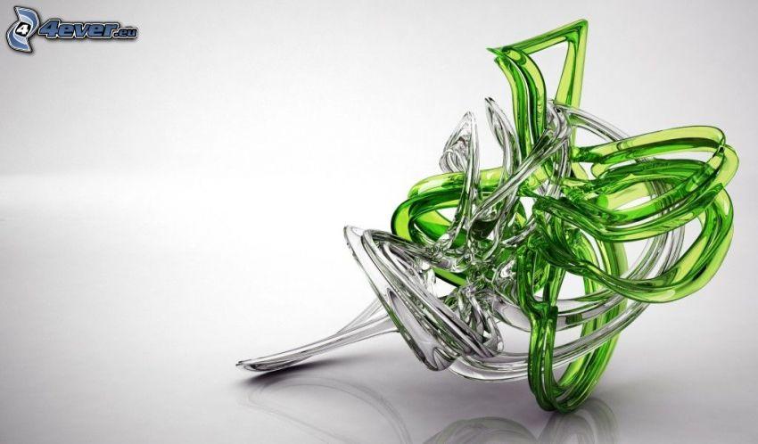 abstracto, vidrio