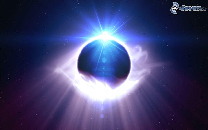 bola abstracta, universo
