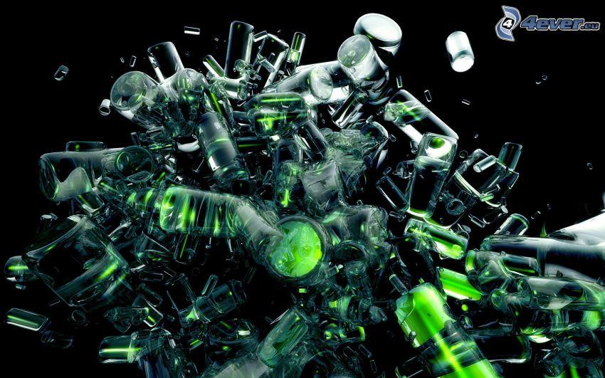 cilindros abstractos