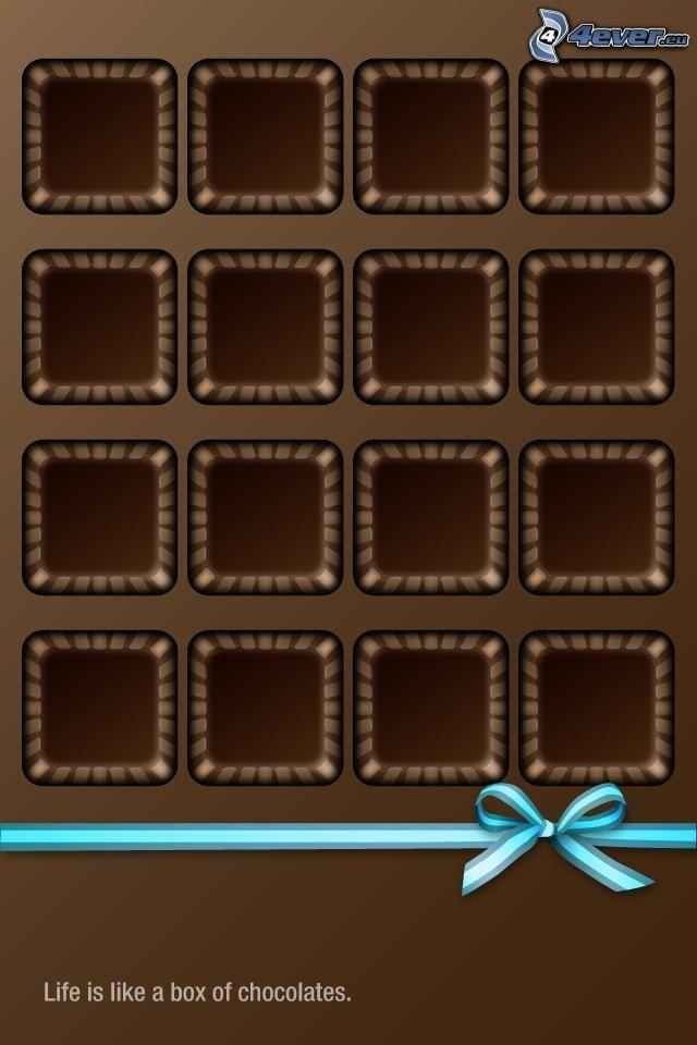 cuadrados, moña