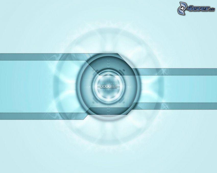 dibujo de pantalla abstracto, círculos, líneas