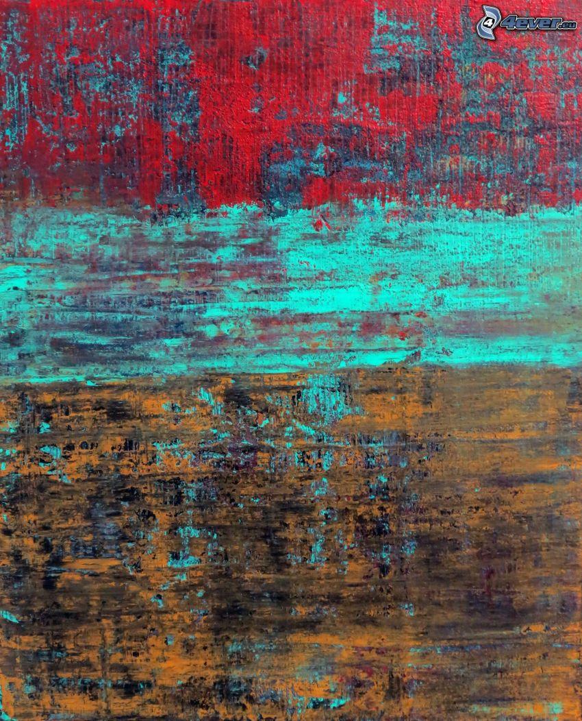 dibujo de pantalla abstracto, colores