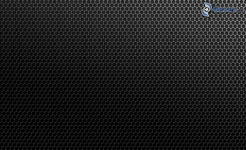 hexágonos, fondo negro