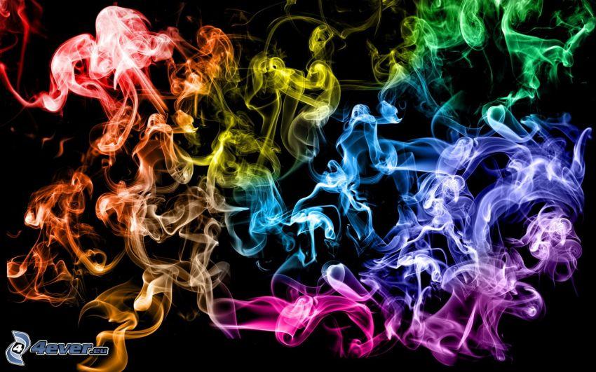humo colorido