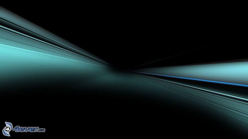 líneas, fondo negro