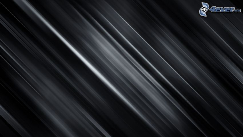 líneas blancas, fondo negro