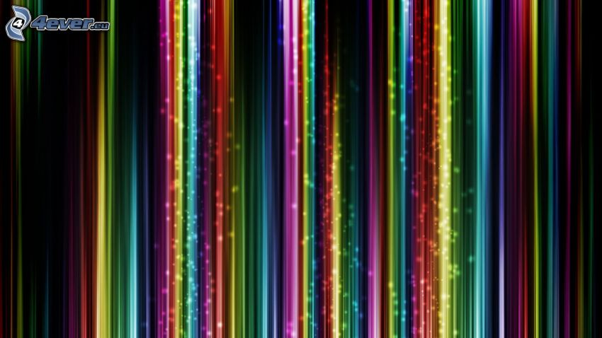 líneas de color