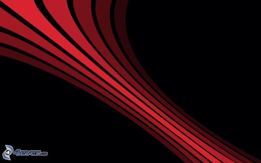líneas rojas