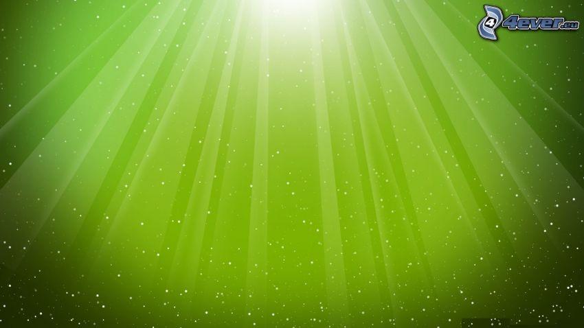 líneas verdes, fondo verde