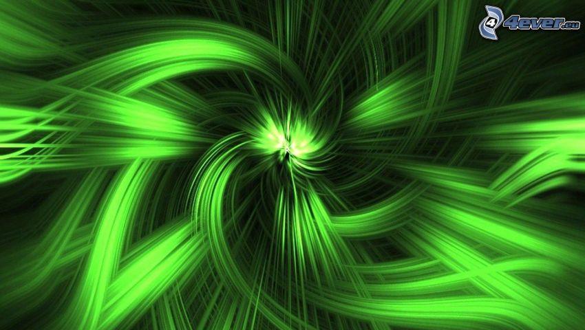 líneas verdes