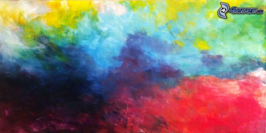 manchas de color