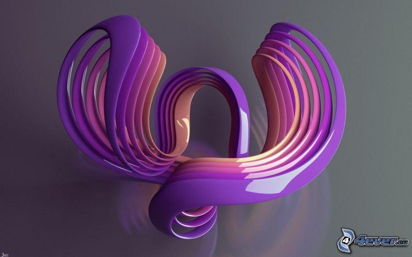 plástico, abstracto