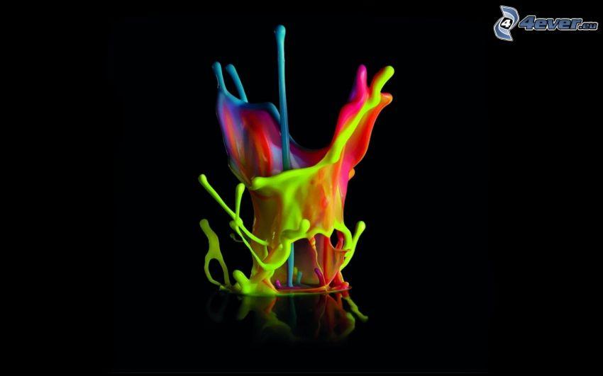 splash, colores