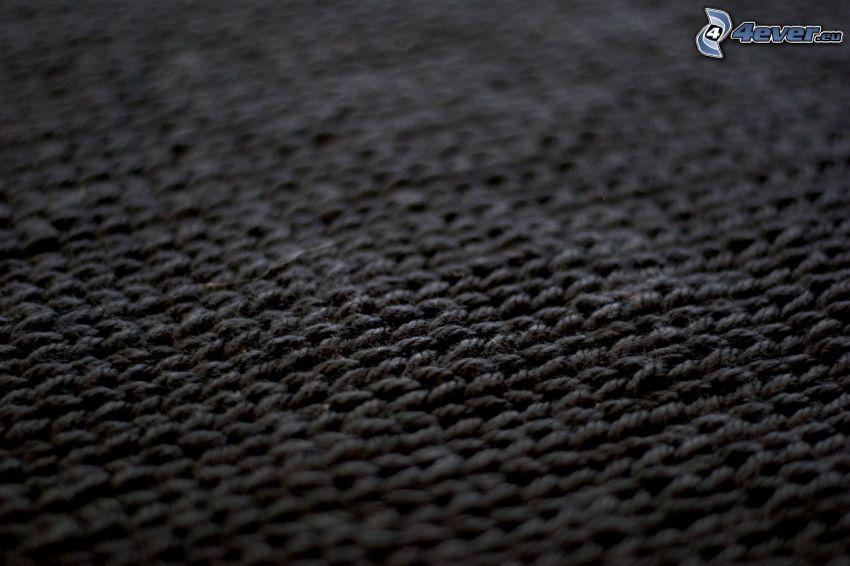 tela, fondo negro