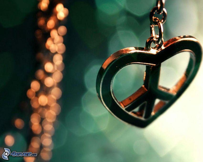 corazón, paz