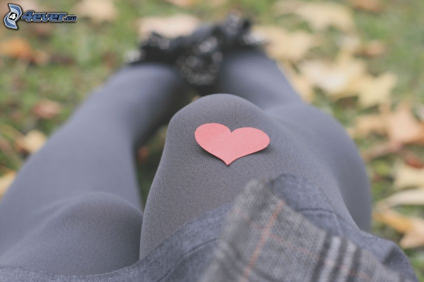 corazón, pies