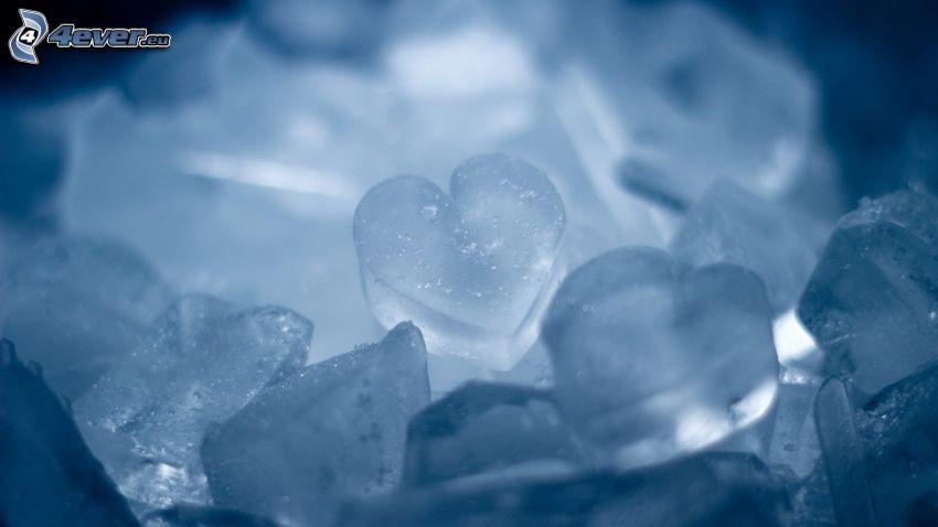 corazones helados