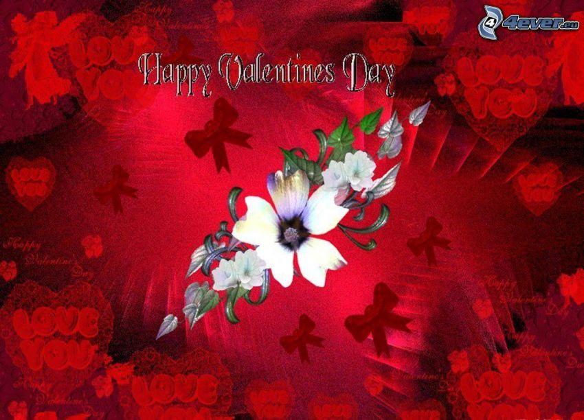 Happy Valentines Day, amor, San Valentín