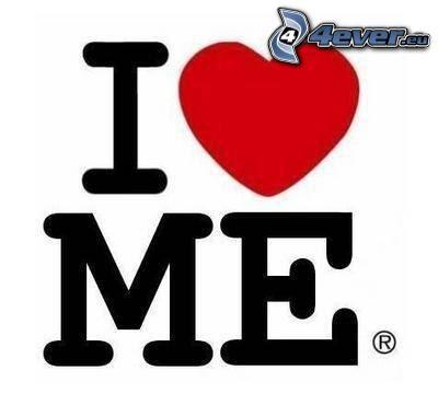 I love me, amor, corazón