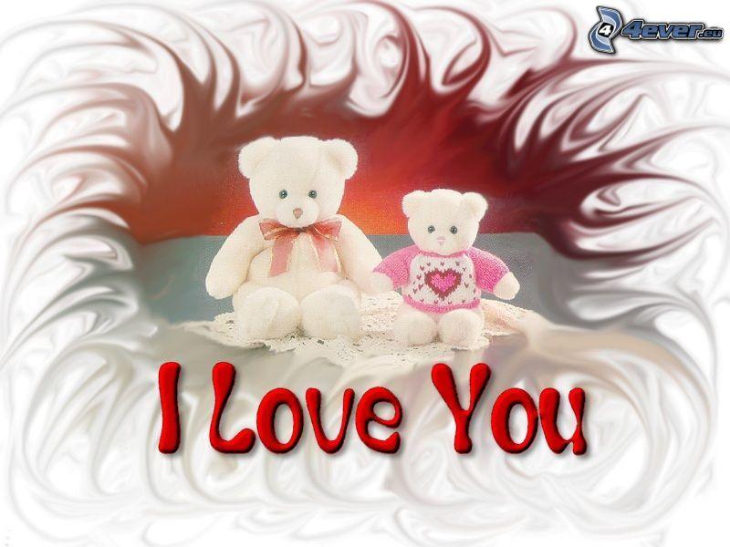 I love you, ositos