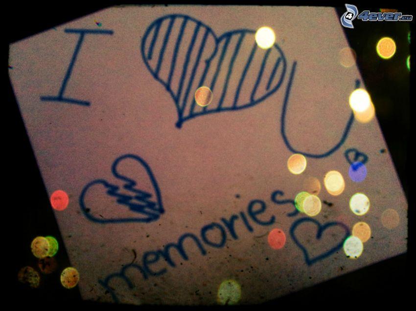 corazón, recuerdos