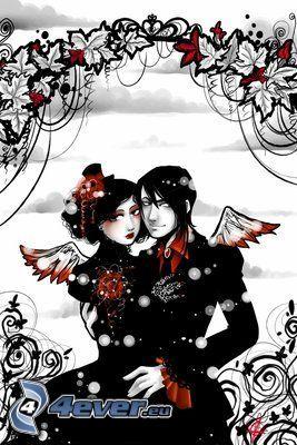 emo pareja, EMO ángel