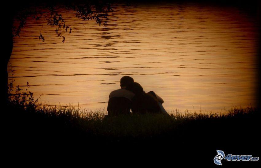 par en el lago