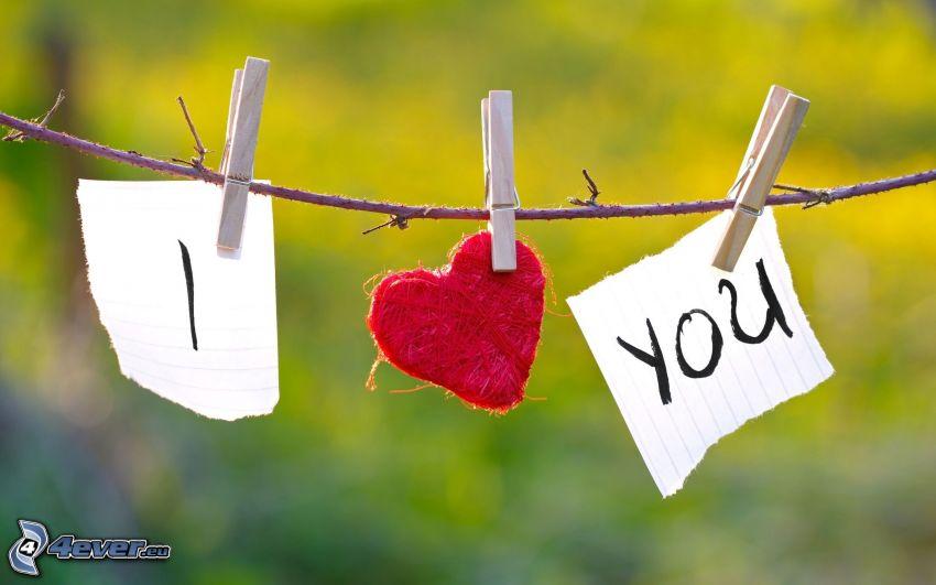 Te quiero, corazón