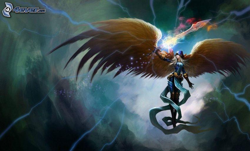 ángel de la historieta