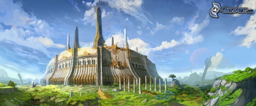 castillo, fantasía