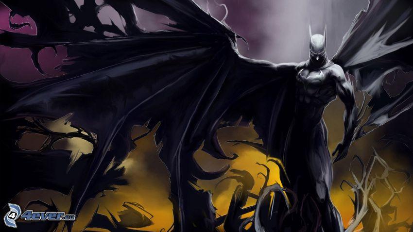demonio, Batman