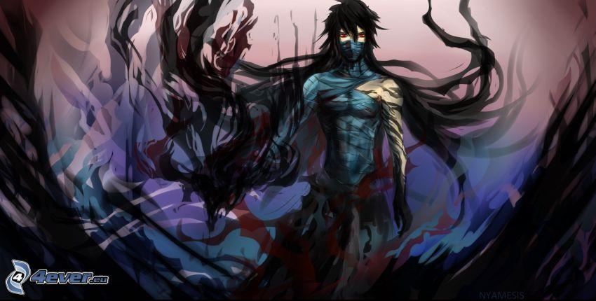 guerrero oscuro